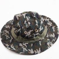 التكتيكية دلو قبعة القبعات outdoor الترفيه كاب الادسنس قناص التمويه النيبالية كاب العسكرية التنزه القبعات YD0061
