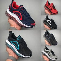 03 New Kids Boy Girl Blue Red Black Grey Sports Shoes High Q...