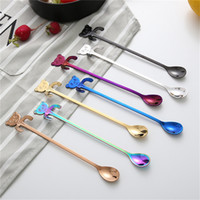 Fashionable Hanging 304 Stainless Steel Spoon Cute Cartoon P...