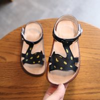2020 Summer Girls Shoes Baby Girl Fawn T- strap Sandals AS025...
