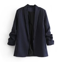 Blazer 2019 spring new European and American s- L no buckle s...