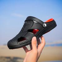 Original Novo Jardim Flip Flops Water Shoes Homens Tenis Plano Verão Praia Aqua Slipper Natação Ao Ar Livre Sandálias Jardinagem Tênis