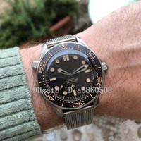 James Bond 007 Herren-Uhr No Time To Die japanische 8215 Miyota mechanische automatische Uhren wasserdicht, montre de luxe, orologio di Lusso