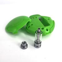 Autentico antipolvere portatile Imini Cube Starter Kit carino 550mAh Preriscaldare la batteria Tensione variabile con cartucce nascoste da 1,0 ml Cartuccia per olio denso