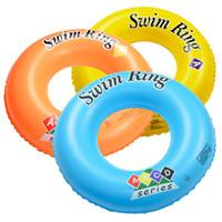 Ispessita e una maggiore tenuta d'aria anello ABC anello di nuoto gonfiabile del bambino adulto sotto i produttori anello salvagente nuoto all'ingrosso