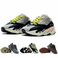 Hot Sale Kids Shoes Wave Runner 700 Kanye West Running Shoes...
