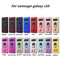 Для Motorola Moto G Stylus Гибридные Доспех кольцо чехол для Samsung Galaxy A10S A20S Для LG K61 K50S Kickstand крышка телефона D1