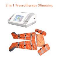 terapia de presión linfático adelgazamiento presión drenaje cuerpo de la máquina Presoterapia masaje cámara 24 de aire de desintoxicación máquina de adelgazamiento de infrarrojos