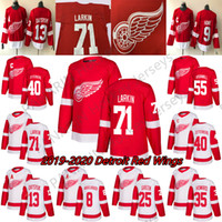 2019 Detroit Red Wings Jerseys Hockey 13 Pavel Datsyuk 8 Justin Abdelkader 19 Steve Yzerman 71 Larkin 9 Howe 21 Tatar Hockey Custom Custom Jerseys