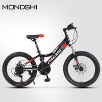 Mondshi20 inch mountain bike 21 velocità forcella anteriore assorbimento freno a disco