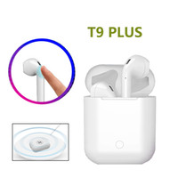 Wireless Bluetooth Touch Earbuds Earphones T9 Plus With Wire...
