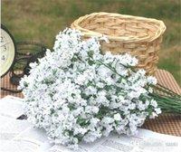 핫 축제 Gypsophila 아기의 호흡 인공 가짜 실크 꽃 식물 홈 웨딩 장식