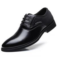 Baoluma De Luxe Hommes Robe Grande Taille En Cuir Pu Oxford Chaussures Pour Hommes À Lacets Des Hommes D'affaires Chaussures Marque Hommes Chaussures De Mariage