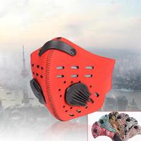 Keine Outdoor Radfahren Gesicht Anti-Dämmerung Maske Wind Proof Kohle Aktiv Anti Pollution Breathschutzwarmhalten
