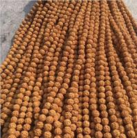 الملك الجملة الطبيعية هونغ 5 بذور بتلات التجهم بودي 10MM الكثافة العالية الزيتي الخرز جيد أساور سلاسل فضفاض