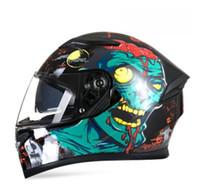 Nouveau Casque de moto Hommes Full Face Casque Moto Riding ABS MATÉRIEL ADVENURE Motocross Helmet moto