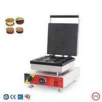 Kommerzielle elektrische Waffelhersteller Maschine Taiwan Keks Backgeräte Elektrische Kuchen Maker Snack-Ausrüstung Niedrige Kosten
