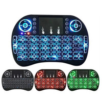 3Colors Mini Rii i8 Wireless Keyboard 2. 4G English Air Mouse...