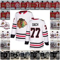 77 Kirby Dach Chicago Blackhawks Jersey Hockey Duncan Keith Jonathan Toews 88 Patrick Kane Corey Crawford Patrick Sharp Saad Griswold