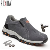 ROXDIA brand plus size 39- 46 steel toecap women men work & s...