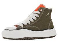 Scarpe da uomo Nigel Cabourn in tela per Maison Mihara Yasuhiro Sneakers alte da uomo Stivali con suola originali da donna Stivali sportivi da donna Sneaker robusta