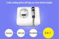 3 일 한국 극저온는 다기능 높은 주파수 얼굴 기계 RF 아니 바늘 Electroporation에 Micocurrent 페이스 리프트 스킨 케어 기계를 냉각