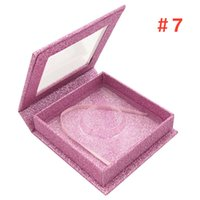 3D Mink Eyelash square Package Boxes False Eyelashes Packagi...