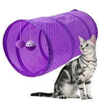 Tissu pour tunnels pour animaux domestiques Outil pour tentes pour animaux de compagnie Chat Tunnel Passageway lavable à la machine