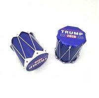 Trump 2020 il presidente degli Stati Uniti del tamburo Carta Elezione Incitare Tamburi sonaglio Keep America Grande per bambini giocattoli favore di partito LJJA3728-2