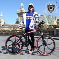 KUBEEN mountain bike 26 pollici biciclette in acciaio 21 velocità freni a doppio disco stradali velocità moto variabile bicicletta da corsa