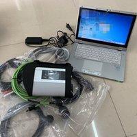 2020.03v s sd STELLA C4 di mb per i camion Benz Cars SD C4 strumento di codifica di programmazione diagnostica con CF-AX2 Tablet diagnosticare i5cpu Laptop