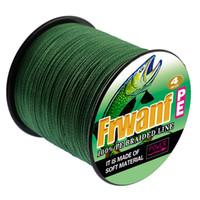 A linha de pesca trançado 500 de super pe de fio 4 fios 10 15 20 25 30 40 50 60 70 80 90 100LB azul cabo 4 trança cinzento multicolor amarelo verde