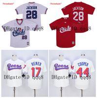 Top Qualität ! Memphis Chicks Collection 28 Bo Jackson Jersey 29 Bo Jackson Auburn Joe Cooper 44 Doug Remer 17 Biere Film Baseball