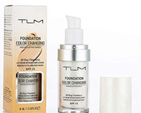 Factory Price TLM Flawless Color Changing Liquid Foundation 30ml Long-wear Makeup Change To Your Skin Tone By Blending