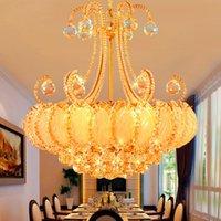 Роскошные хрустальные люстры светодиодные лампы для Гостиная Спальня Коридор Кухня Современный Потолочный светильник кулон Cristal лампа блеск