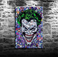 The Joker، HD Canvas Printing New Home Decoration فن الرسم / غير المؤطرة / مؤطر