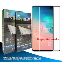 Case Friendly 3D Curved Edge Glue Tempered Glass For Samsung...