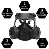 2020 새로운 스타일의 가스 마스크 호흡은 CS 필드 장비 코스프레 보호 할로윈 악마를 위해 창조 스테이지 성능 소품 마스크