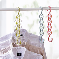 Clothes Drying Rack Plastic Scarf Hangers for clothes Layer ...