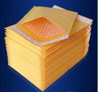 Beaucoup de tailles Jaune Kraft Bubble Mailing Enveloppe Enveloppes Bubble Mailers Enveloppes Rembourrées Emballage Sacs D'emballage GB1163