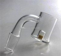Желтый CAD Ядро Evan Shore Banger Кварц Nail с Изменение цвета Термохромовое Кварц Banger Bucket Nails 10мм 14мм 18мм для стекла водопроводная труба