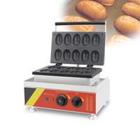 Ücretsiz nakliye 110v 220v Ticari Elektrikli Waffle, gofret, dondurma waffle fırıncı üzerinde Yumurta waffle makinesi YUMURTA harfler