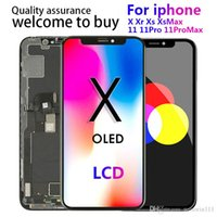 100% tested High quality oled panels For iPhone X XS XR XSMAX 11 LCD Display Touch Screen Digitizer Complete Assembly Replacement