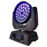 6 parça 36x18w LED hareketli kafa zoom ışık RGBWA UV 6 in 1 Lyre DMX LED Yıkama Zoom 36x18