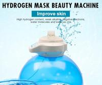 أكسجين جديد جودة عالية جيت آلة قشر الوجه الباخرة الهيدروجين المياه آلة مع LED الفوتون العلاج بالضوء تجديد الجلد رطب