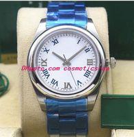 17 Стиль Luxury Watch 116000 116200 114200 114300 Шифер Циферблат Браслет Из Нержавеющей Стали Автоматическая Мода мужские Часы Наручные Часы