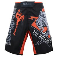 MMA Fighting Sports Print Shorts мужчины UFC MMA Training фитнес джитсу пляжные шорты бег Муай Тай летние дышащие шорты мужской T200414