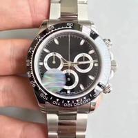 Haute qualité mode mens montre TONA série M116519 simple face à l'or en acier inoxydable machine automatique montres
