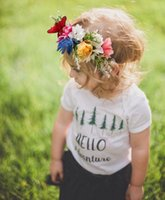 Baby Floals Headband Kids Flower Crown Photography Props Hai...