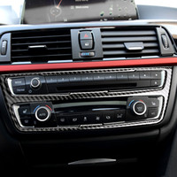 BMW의 F30 F34 3 3GT 시리즈 인테리어 트림 탄소 섬유, 에어컨 CD 제어판 장식 자동차 스타일링 액세서리
